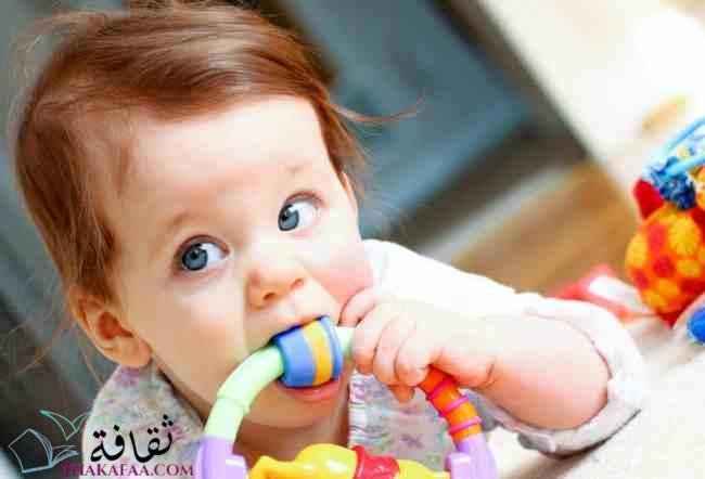 تخفيف آلام التسنين عند الأطفال-موقع ثقافة- (1)