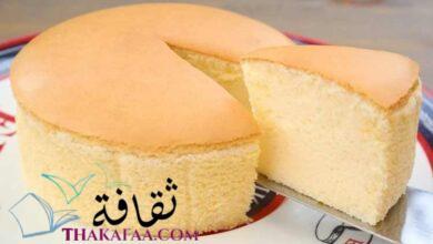 صورة طريقة عمل الكيكة اليابانية الإسفنجية اللذيذة