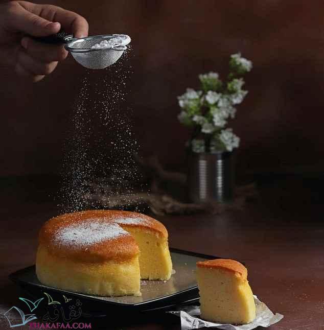 طريقة عمل الكيكة اليابانية الإسفنجية اللذيذة