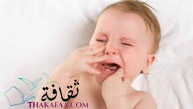 صورة اعراض التسنين عند الأطفال الرضع و طرق تخفيفها