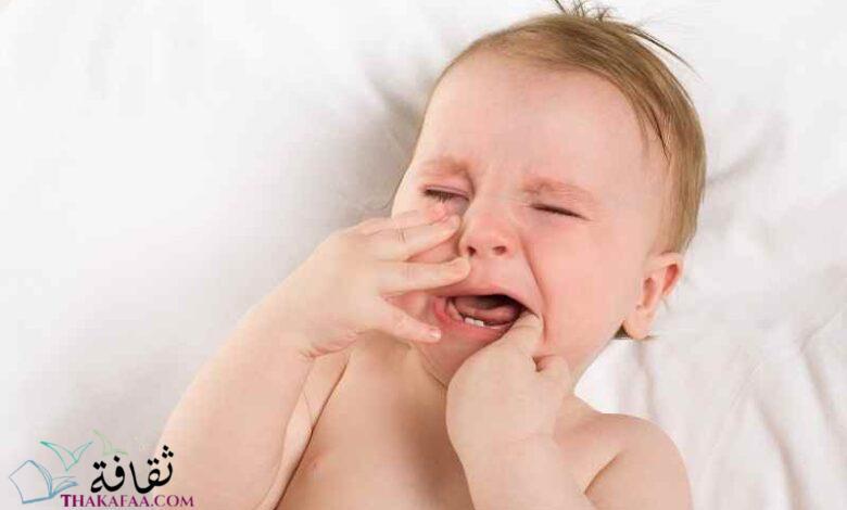 عراض التسنين عند الأطفال الرضع و طرق تخفيفها موقع ثقافة دوت كوم