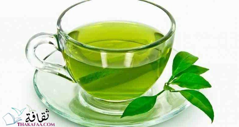 اهم فوائد الشاي الاخضر للبشرة و الشعر-موقع ثقافة.كوم