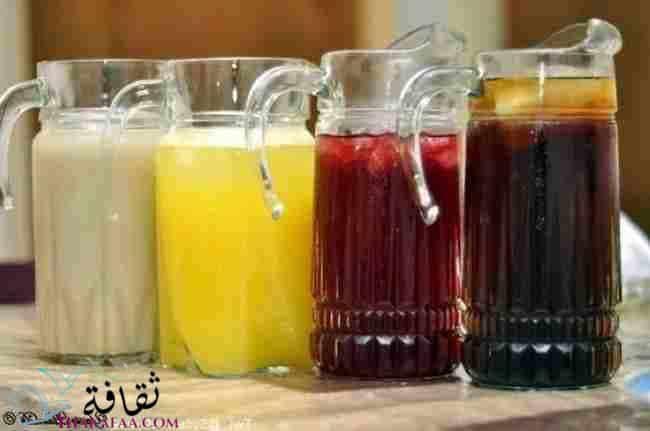 مشروبات رمضانية- موقع ثقافة.كوم