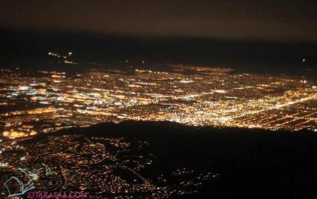 بحث عن البيئة - التلوث الضوئي- موقع ثقافة.كوم