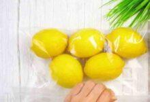 صورة 6 طرق تخزين الليمون لفترات اطول في المنزل