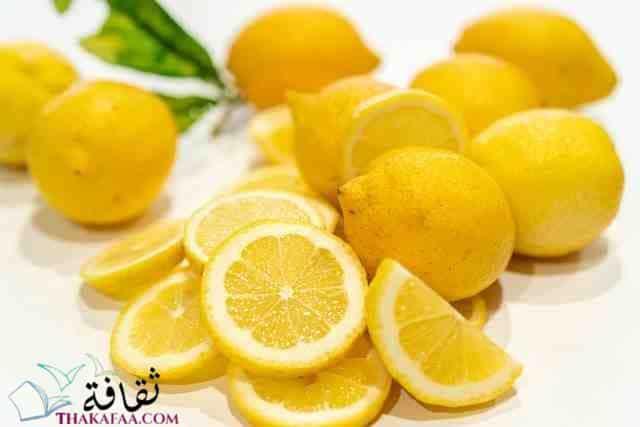 طرق تخزين الليمون