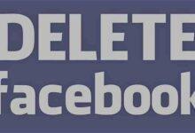 صورة طريقة تعطيل و حذف حساب الفيس بوك نهائياً