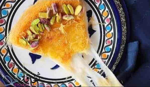 طريقة عمل الكنافة النابلسية بالجبنة الموتزاريلا - ثقافة.كوم