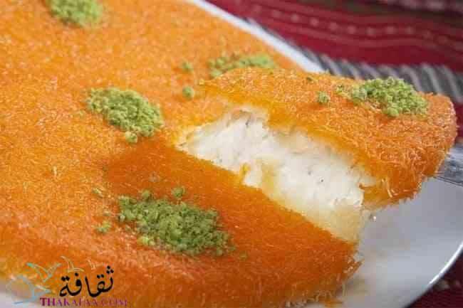 طريقة عمل الكنافة بالجبنة والقشطة-ثقافة.كوم