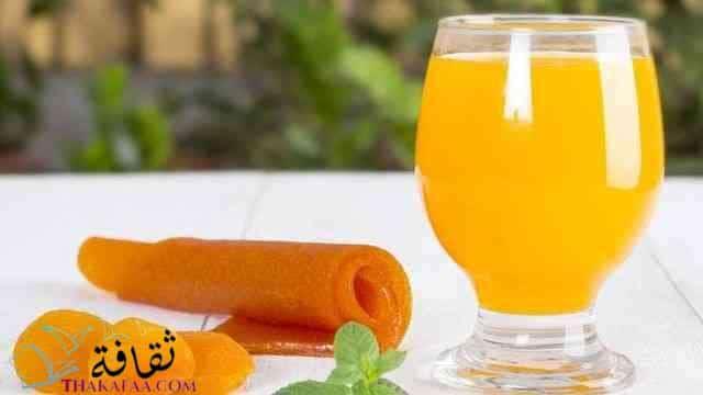 مشروب قمر الدين - مشروبات رمضان و عصائر رمضانية