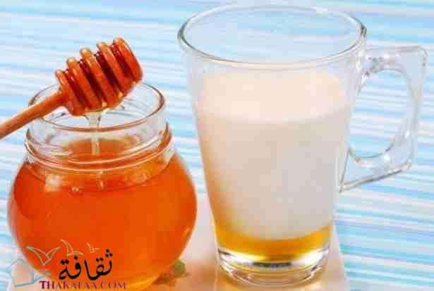 ماسك طبيعي للوجه -ماسك العسل و الحليب