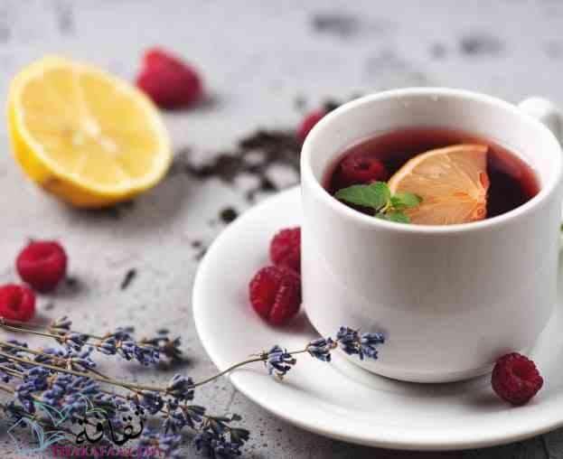 مشروبات رمضان و عصائر رمضانية-مشروب اللافندر والتوت والليمون
