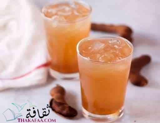 مشروبات رمضان و عصائر رمضانية- مشروب التمر هندي