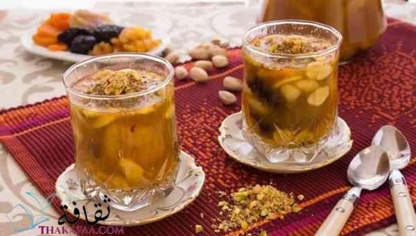 مشروب الخوشاف - مشروبات رمضان و عصائر رمضانية