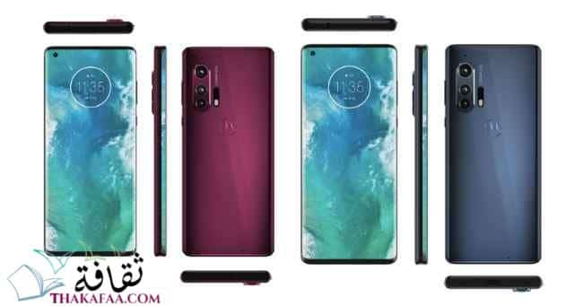 Motorola Edge Plus- أفضل هواتف 2021- ثقافة.كوم