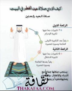 الركعة الثانية في صلاة العيد