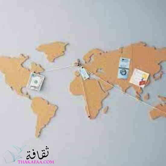 خريطة الفلين-أفكار هدايا تخرج للبنات والشباب