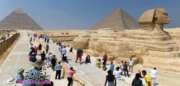 أهمية السياحة في مصر للدخل القومي