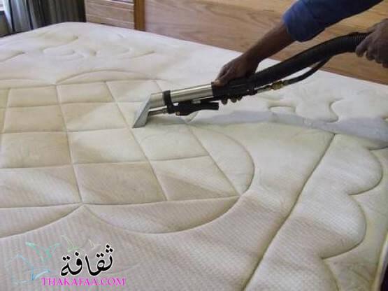 تنظيف وحماية مرتبة السرير الخاص